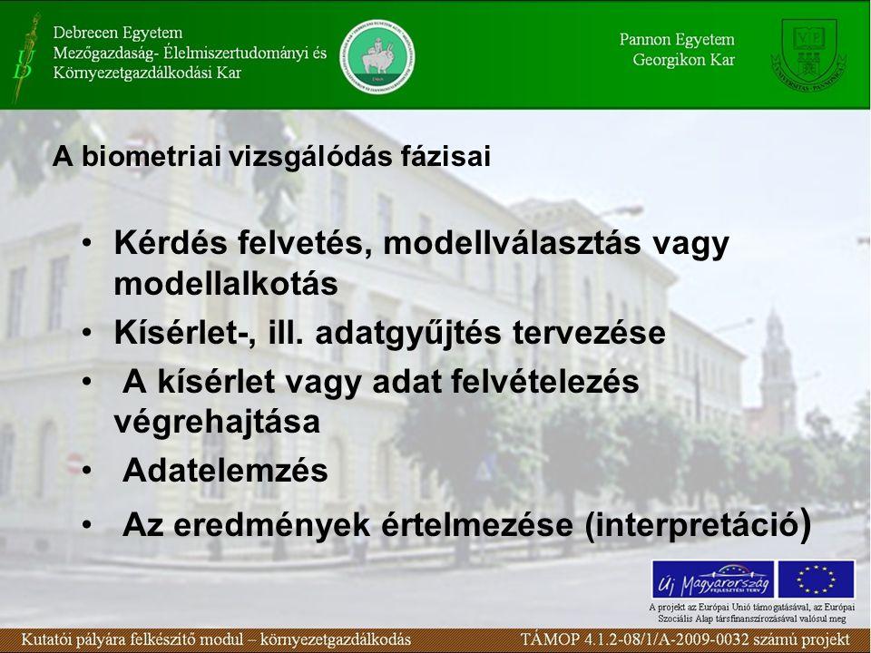  Az alapsokaság (populáció)  a vizsgálat tárgyát képező egyedek, esetek összessége állhat véges sok egyedből, de általában végtelen sok egyedből áll Szűkebb értelemben az egyedek (esetek) valamely vagy egyszerre több ismérvének összessége  Például: a magyar állampolgárok 2011.