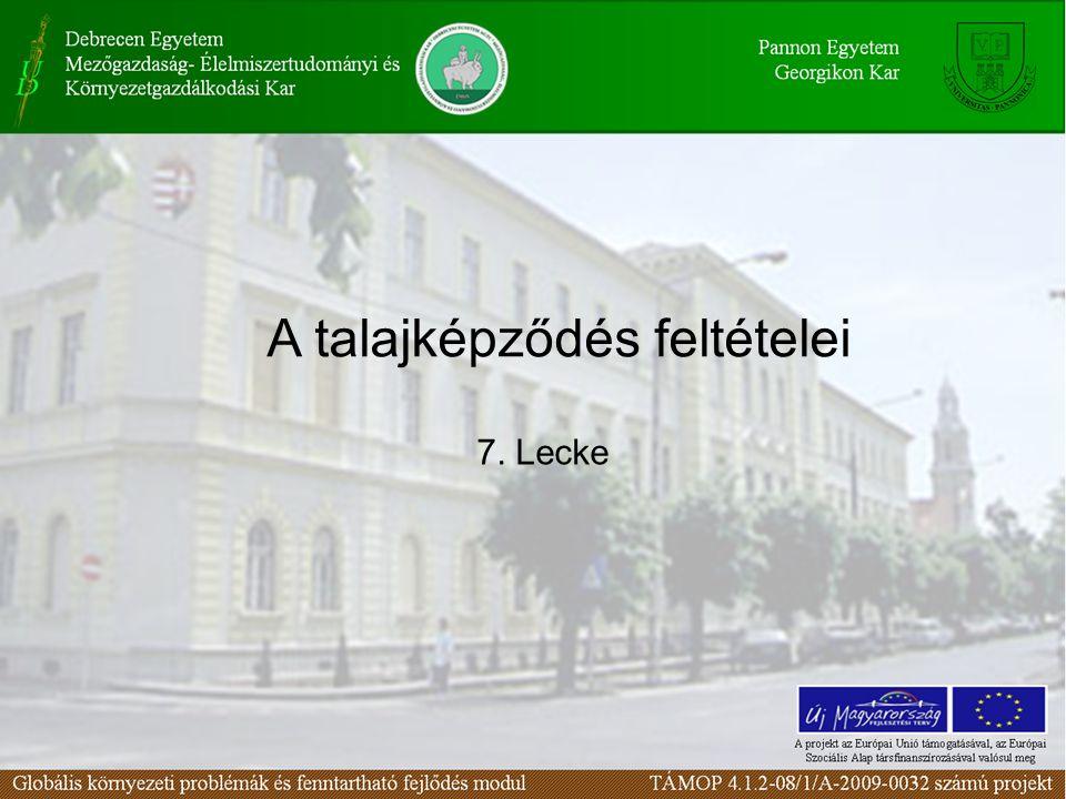A termőföldek aránya a Földön, Európában, és Magyarországon Forrás: Pálmai Ottó, 1995 A föld szilárd részének mindössze 11% a termőföld.
