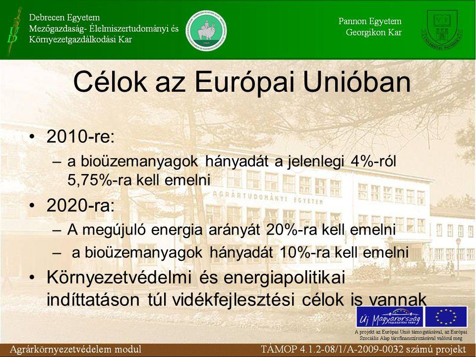 Biomassza A biomassza energetikai célokra történő hasznosításának előnyei: a.) Kén-dioxid kibocsátás csökkenése.
