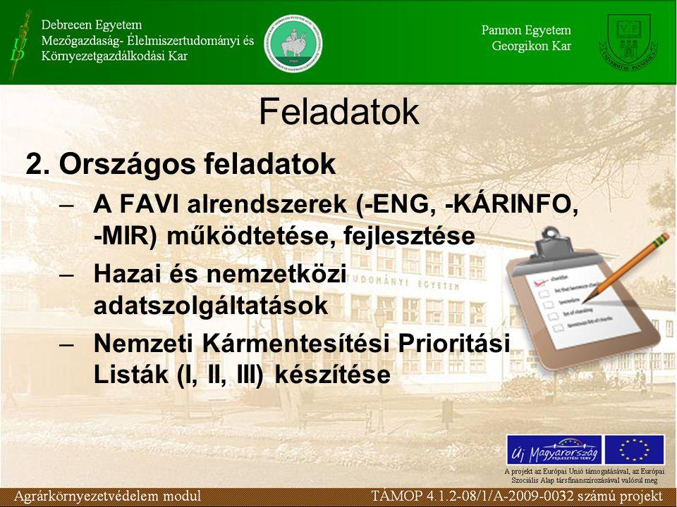 Üröm-Csókavár – gázmasszával szennyezett karsztos bányaüreg mentesítése –EU Kohéziós Alapból megvalósuló projekt – 85% EU támogatás, 15% állami költségvetésből –60 ezer tonna veszélyes hulladék kitermelése, hasznosítása –Tervezett befejezési határidő: 2010.