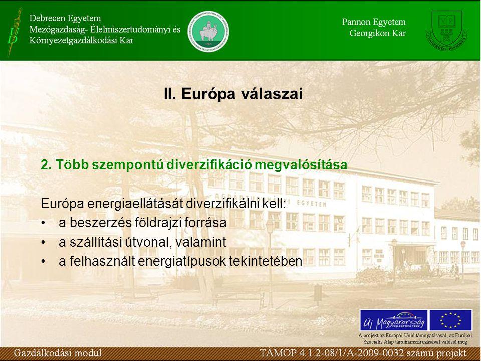 II. Európa válaszai 2.