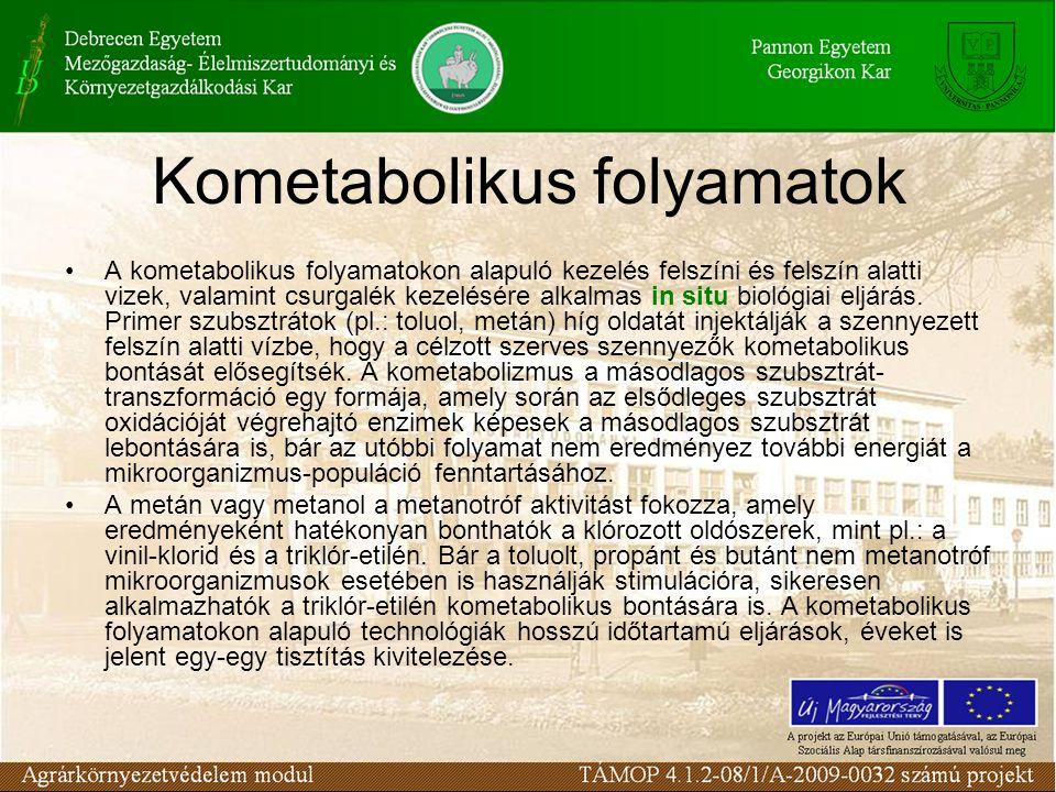 A kometabolikus folyamatokon alapuló kezelés felszíni és felszín alatti vizek, valamint csurgalék kezelésére alkalmas in situ biológiai eljárás. Prime