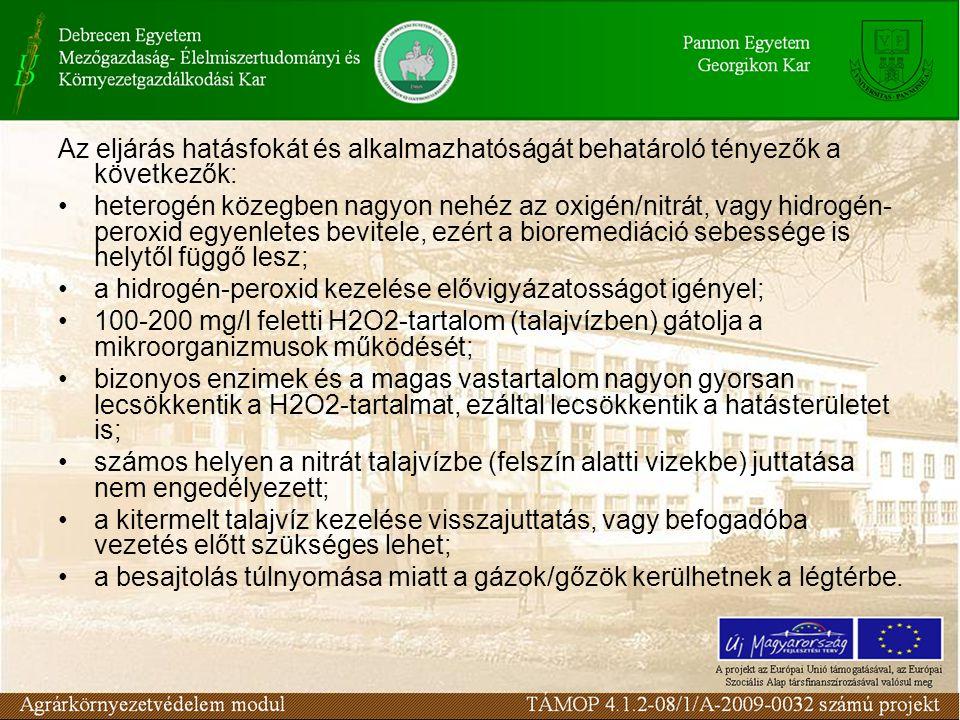 A talajműveléses kezelés szennyezett talajok, üledékek és iszapok mentesítésére alkalmas in situ biológiai eljárás.