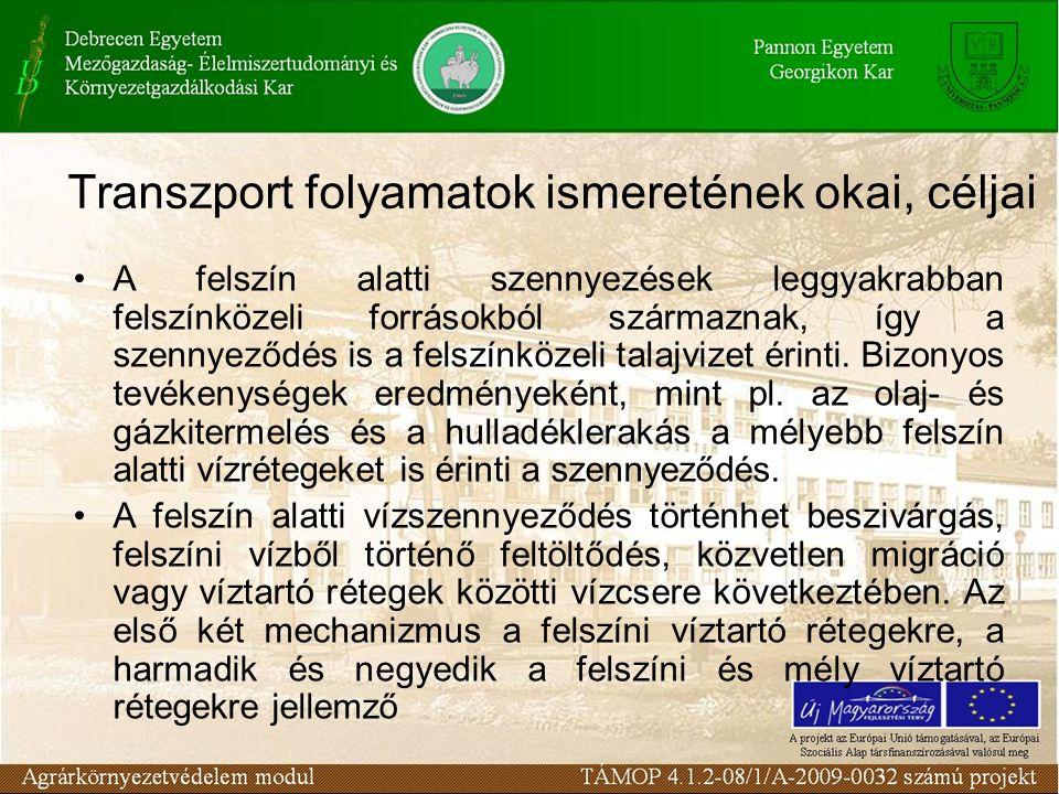 Szakirodalom: Tamás J.: 2002.Talajremediáció. Debreceni Egyetem, Debrecen, 1-241.