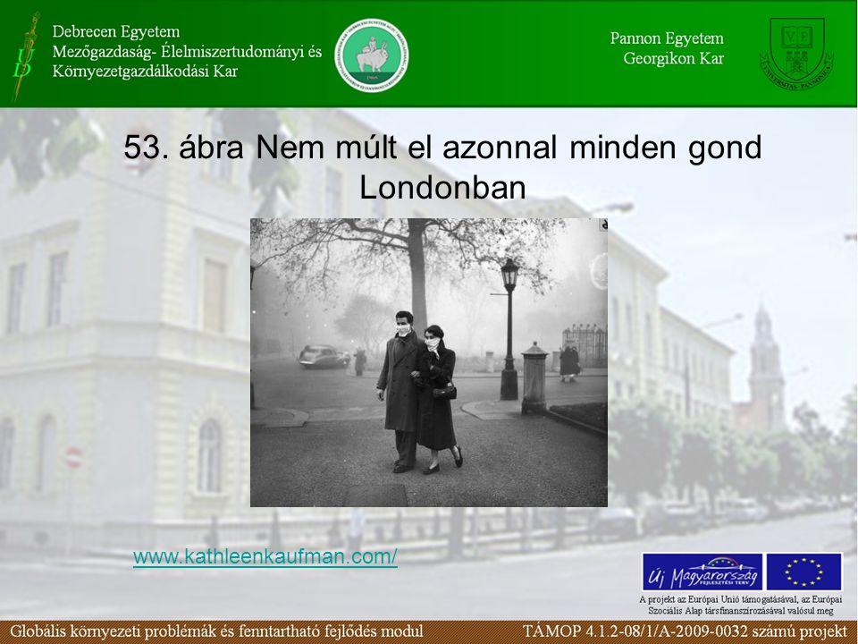 53. ábra Nem múlt el azonnal minden gond Londonban www.kathleenkaufman.com/