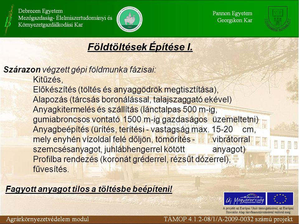 Védekezés egyedi buzgár ellen Buzgár: a töltés alatti talajtesten keresztül szivárog a víz homok vagy jó vízvezetőképességű rétegben.