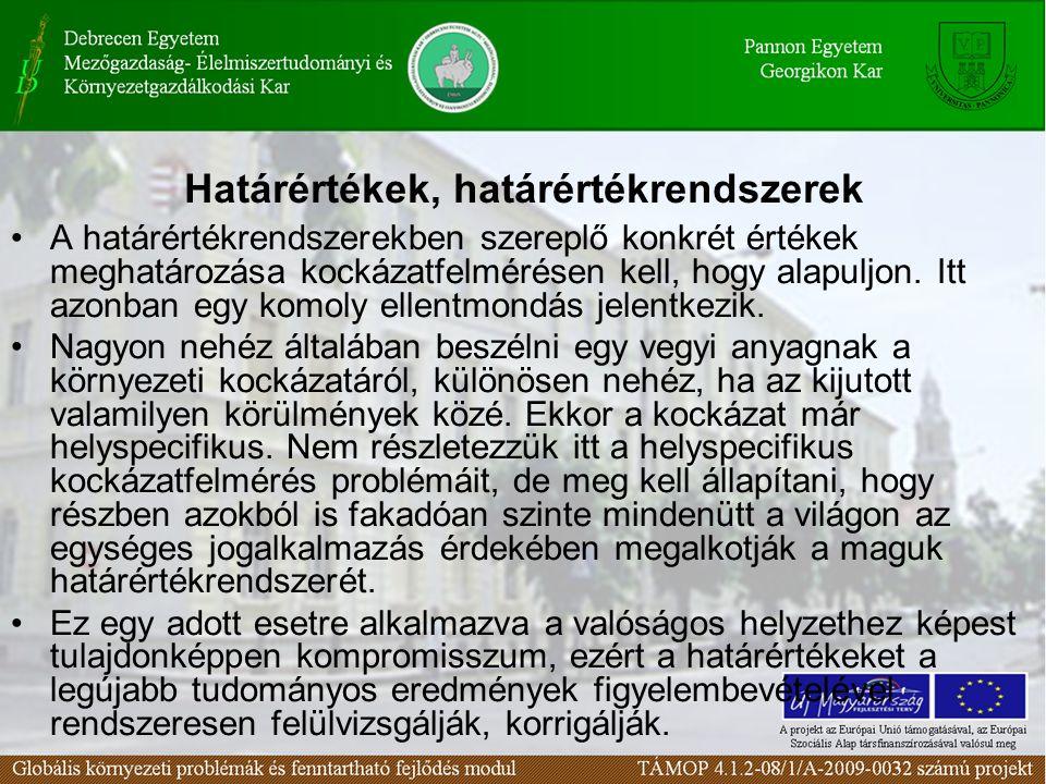 A talaj szennyezése és a teendő intézkedések A talaj célállapot meghatározása Kérdések a leckéhez