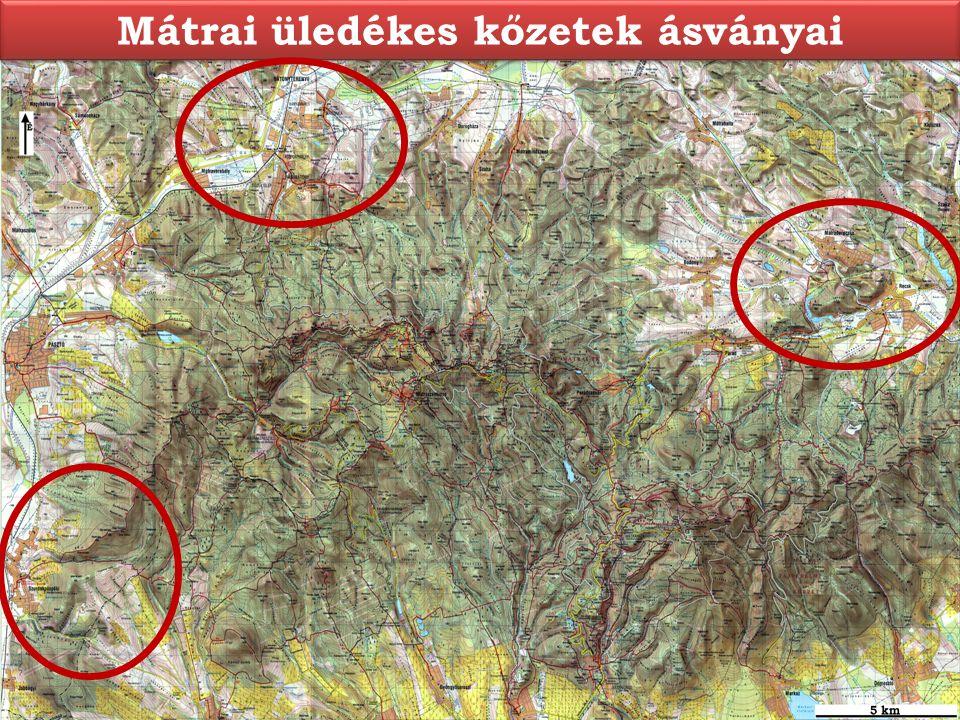 Mátrai üledékes kőzetek ásványai