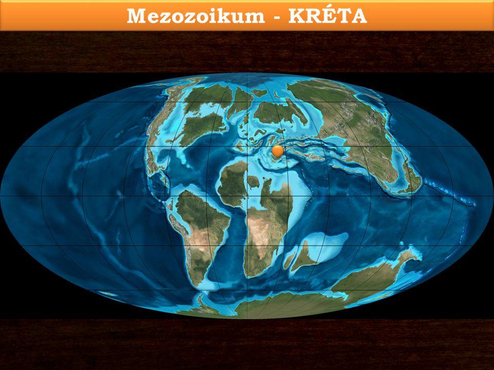 Mezozoikum - KRÉTA