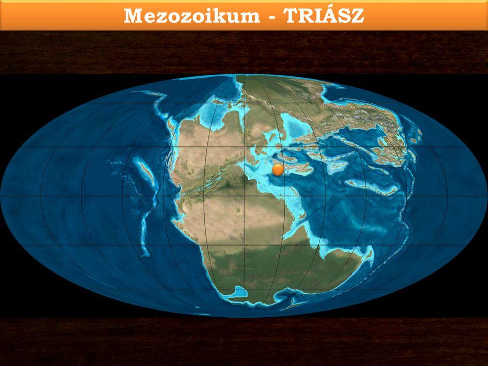Mezozoikum - TRIÁSZ