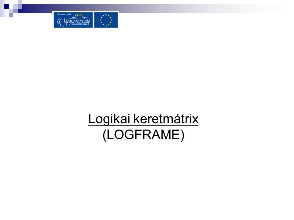 Logikai keretmátrix (LOGFRAME)