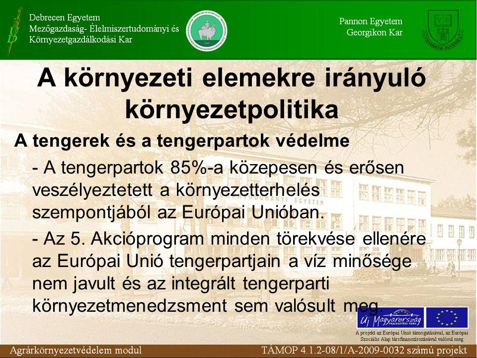 Víz Keretirányelv Az Európai Parlament és a Tanács 2000.