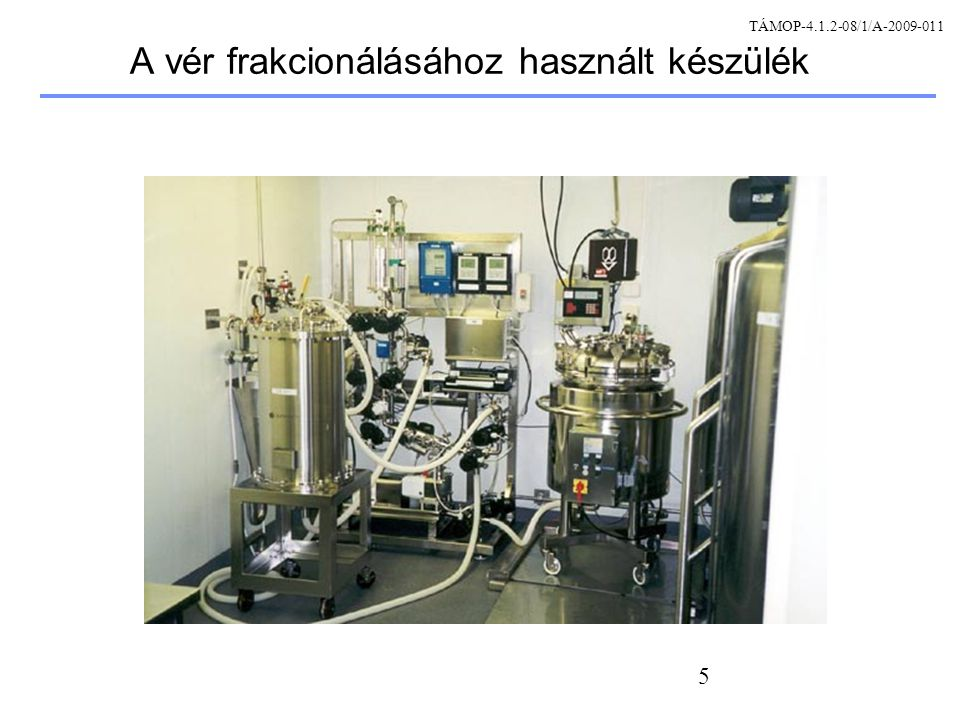 56 Metotrexát (MTX) szelekció Tenyésztés: 0.25 uM Mtx Tenyésztés: 0.5 uM Mtx Kolónia tovább- tenyésztése Kolónia tovább- tenyésztése A klónozott gén magas szinten expresszálódik a CHO sejtekben Szelekció többször ismételve, növekvő MTX koncentráció TÁMOP-4.1.2-08/1/A-2009-011