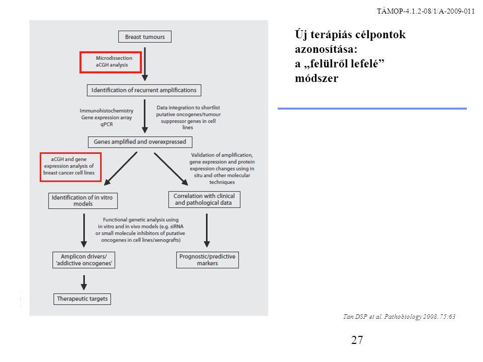 """27 Új terápiás célpontok azonosítása: a """"felülről lefelé módszer Tan DSP et al."""