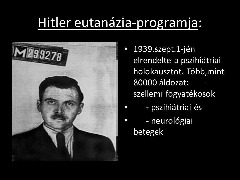 A táborok felszabadulása Auschwitz: 1945.jan.22 Bergen-Belsen: ápr.15 Mauthausen: máj.5 Németországban évtizedeken át nem is próbálták letagadni a holokauszt tényét.