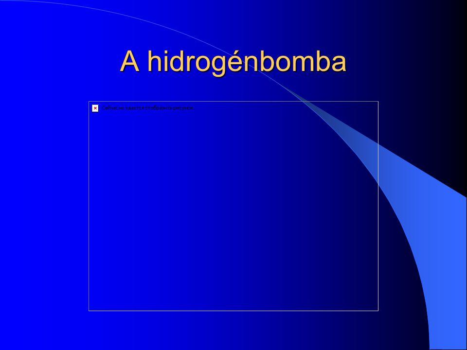 A hidrogénbomba