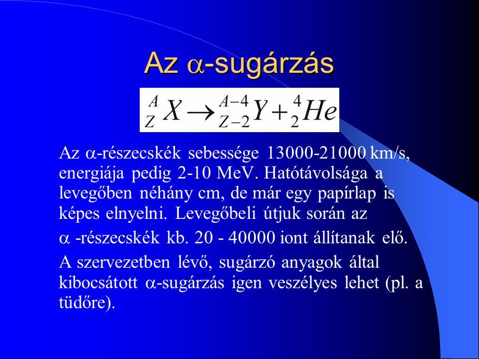 A (fajlagos) kötési energia Az A tömegszámú atommag kötési ener- giáján értjük azt az energiát, amennyivel az A számú nukleon együttes energiája mé- lyebb az atommagban, mint egymástól távol állva.