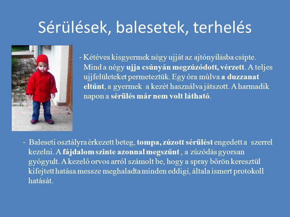 Sérülések, balesetek, terhelés - Kétéves kisgyermek négy ujját az ajtónyílásba csípte. Mind a négy ujja csúnyán megzúzódott, vérzett. A teljes ujjfelü