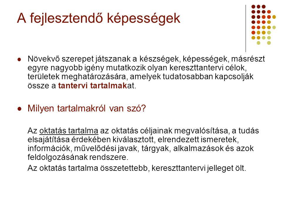 A magyar Nemzeti alaptanterv 1995.
