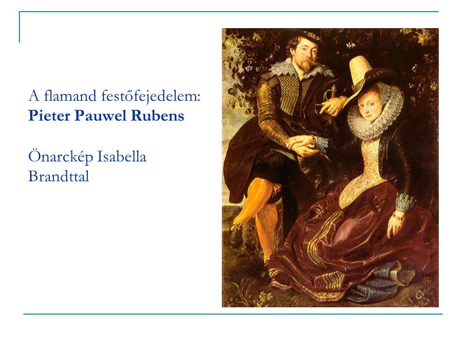 A flamand festőfejedelem: Pieter Pauwel Rubens Önarckép Isabella Brandttal
