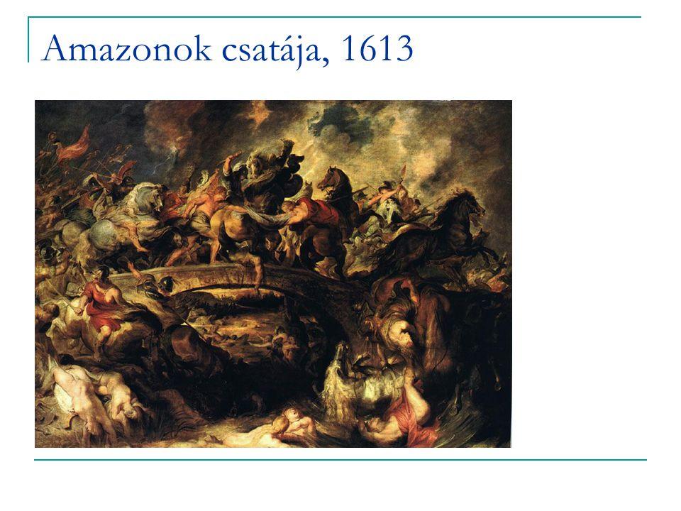 Amazonok csatája, 1613