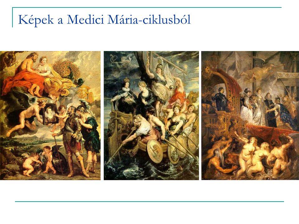 Képek a Medici Mária-ciklusból