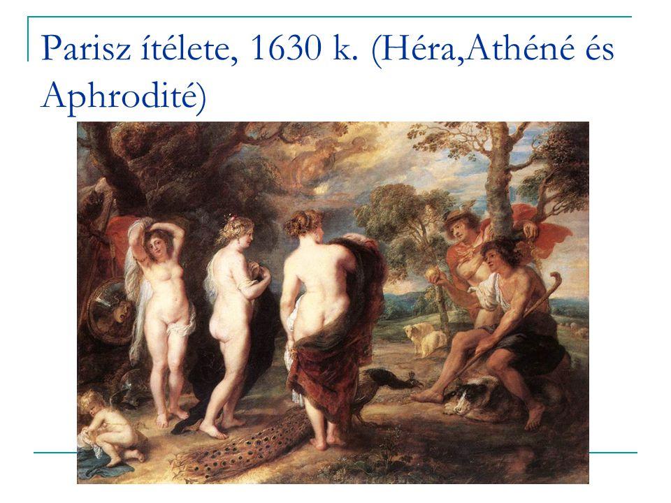 Parisz ítélete, 1630 k. (Héra,Athéné és Aphrodité)