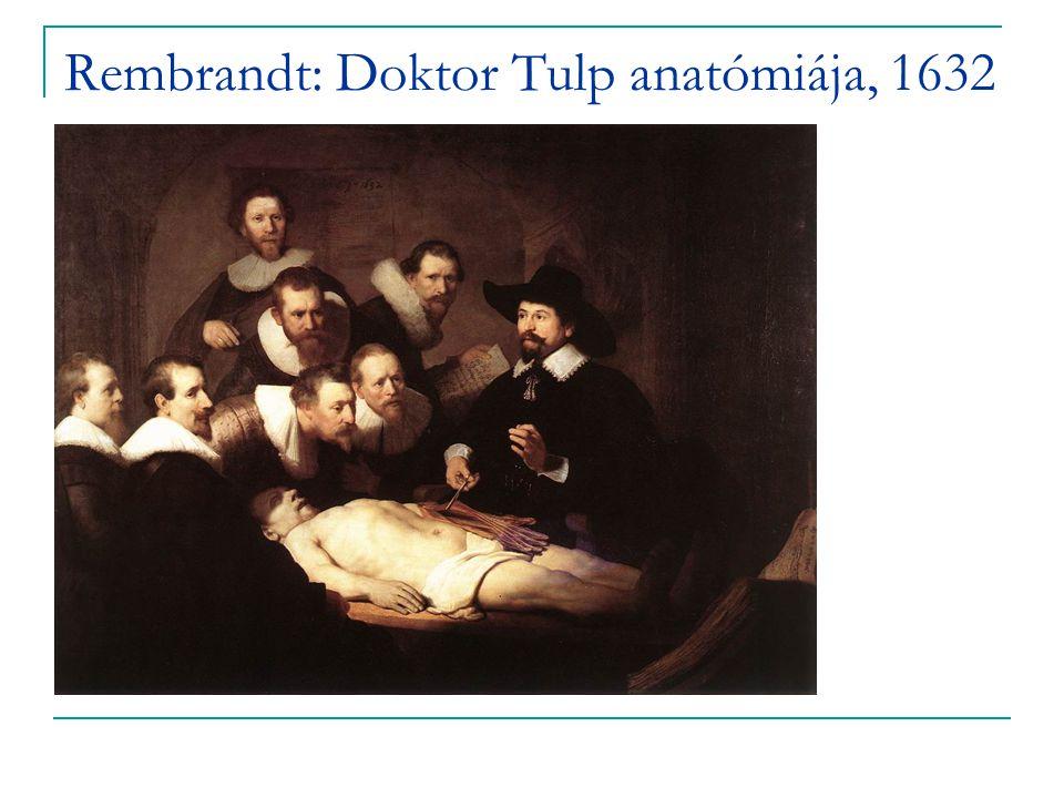 Rembrandt: Doktor Tulp anatómiája, 1632