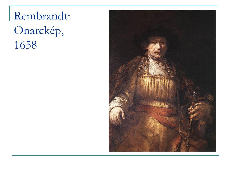 Rembrandt: Önarckép, 1658