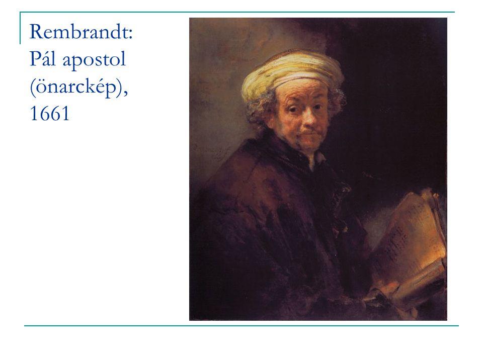 Rembrandt: Pál apostol (önarckép), 1661