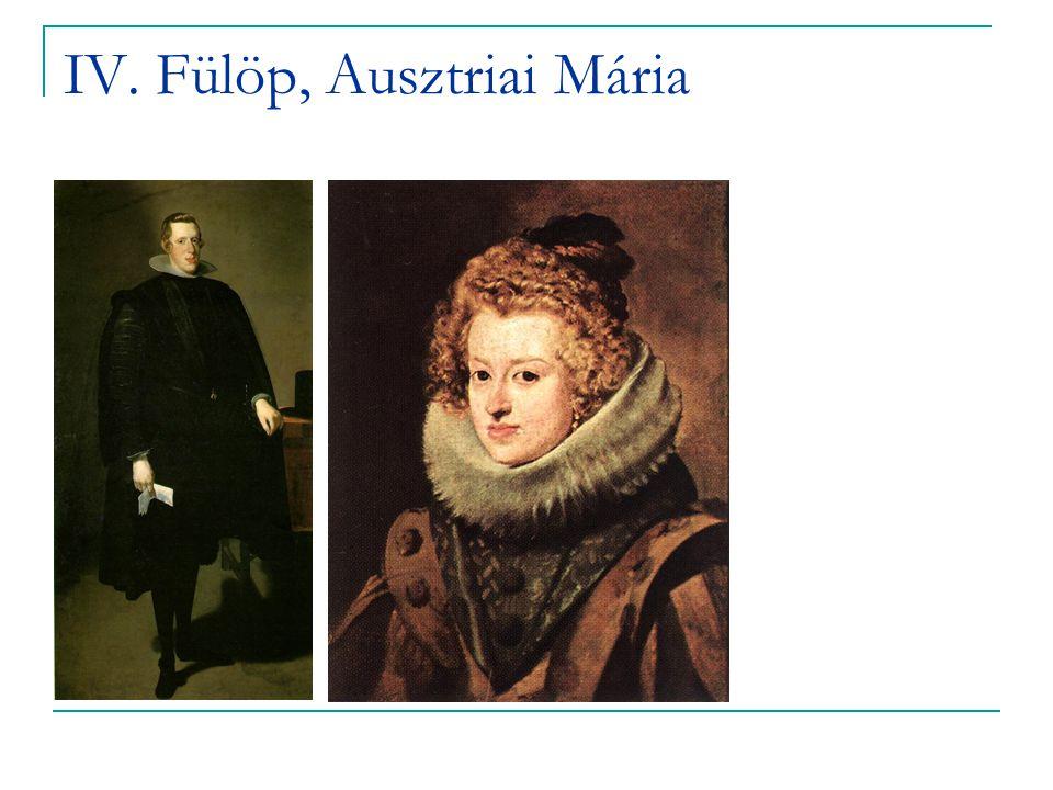 IV. Fülöp, Ausztriai Mária
