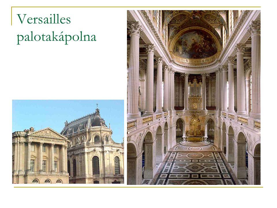 Versailles palotakápolna