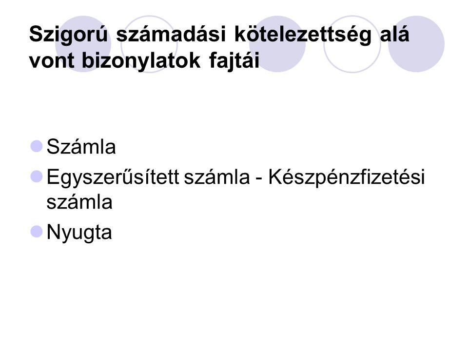 SZÁMLA