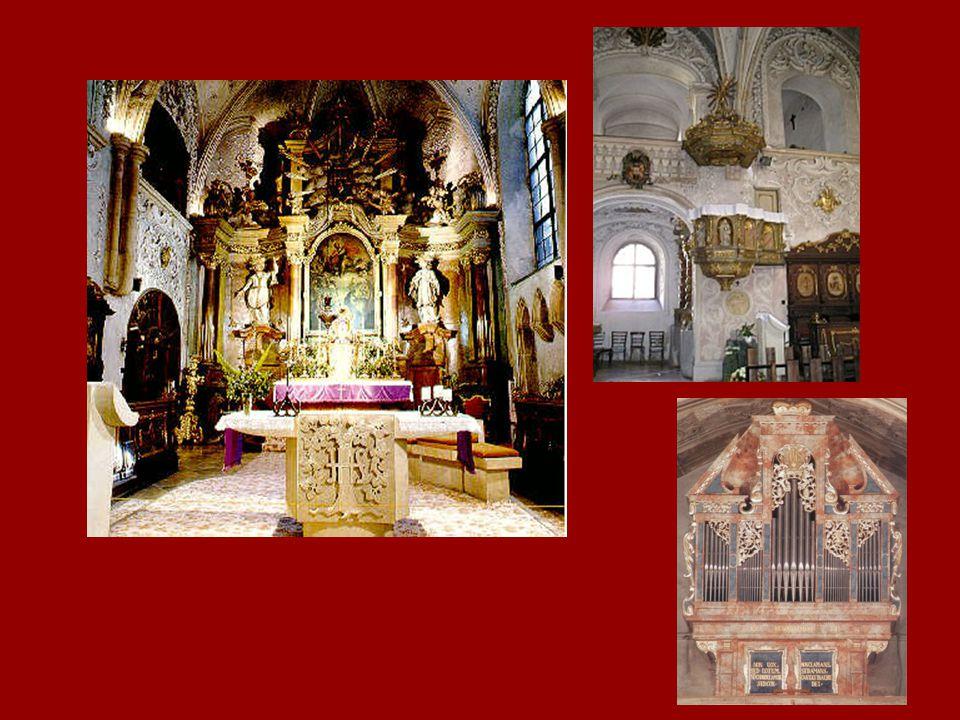 Győr, jezsuita templom jelenleg bencés templom (Baccio del Bianco ?) 1634-1641
