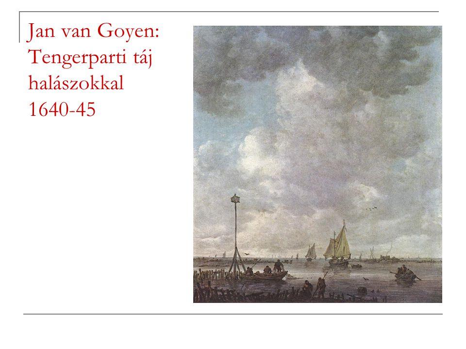 Jan van Goyen: Tengerparti táj halászokkal 1640-45