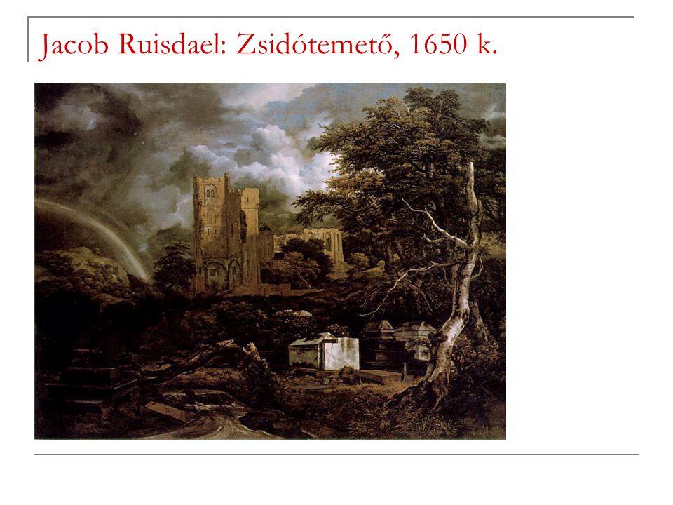 Jacob Ruisdael: Zsidótemető, 1650 k.