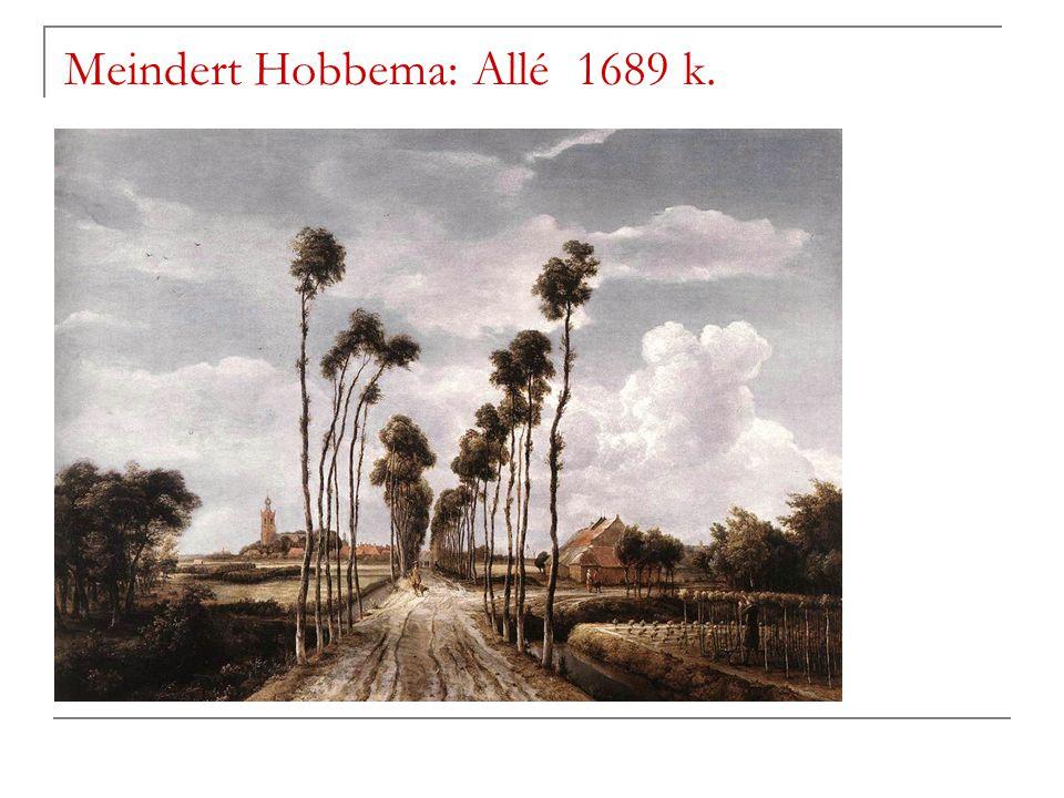 Meindert Hobbema: Allé 1689 k.