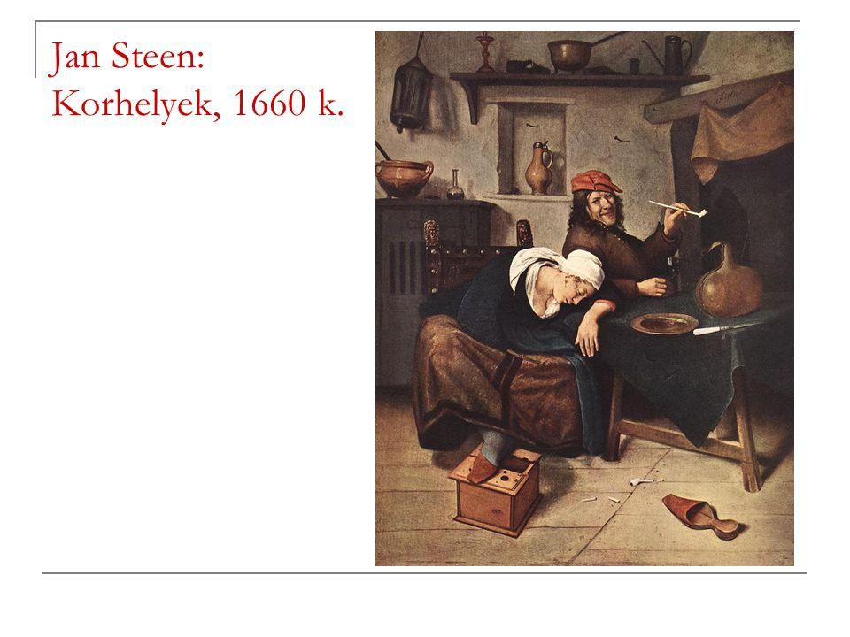 Jan Steen: Korhelyek, 1660 k.