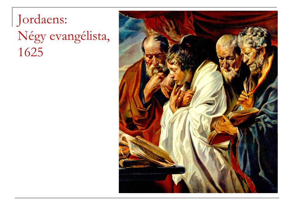 Jordaens: Négy evangélista, 1625