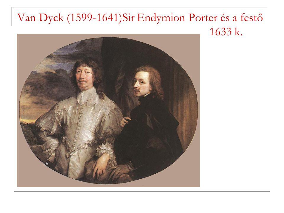 Van Dyck (1599-1641)Sir Endymion Porter és a festő 1633 k.