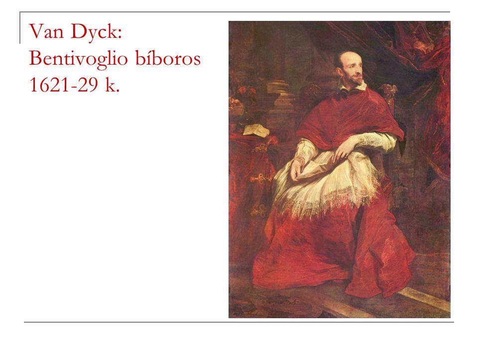 Van Dyck: Bentivoglio bíboros 1621-29 k.