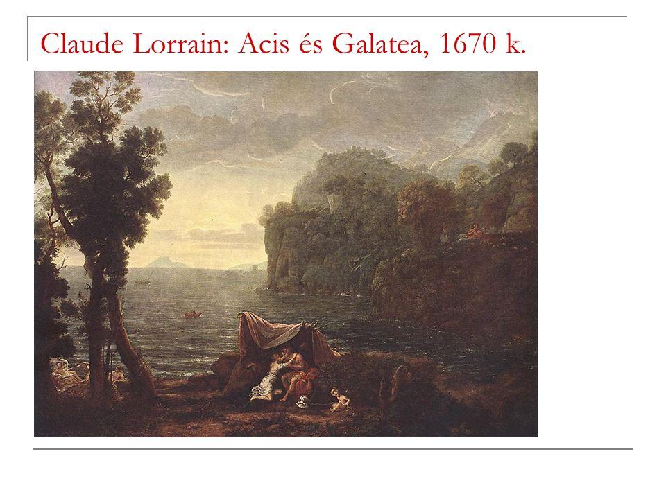 Claude Lorrain: Acis és Galatea, 1670 k.