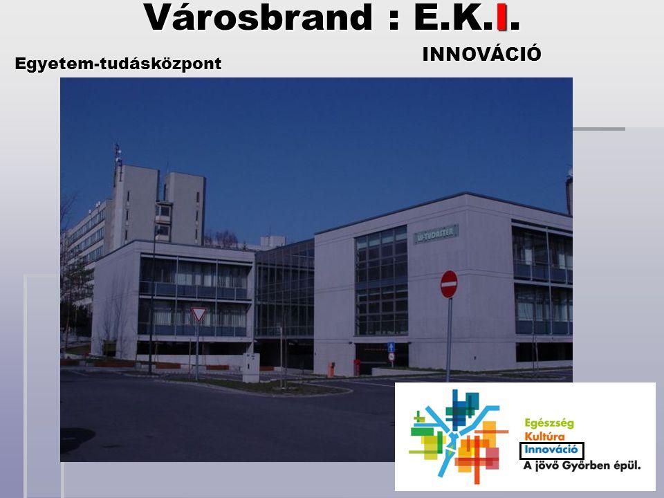 INNOVÁCIÓ Egyetem-tudásközpont