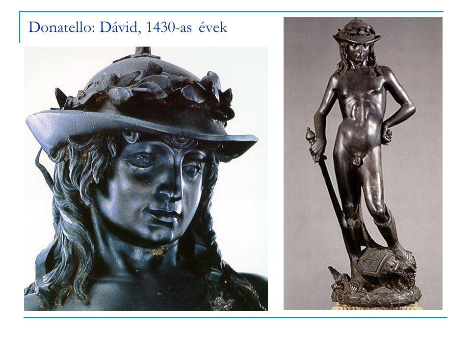 Donatello: Dávid, 1430-as évek
