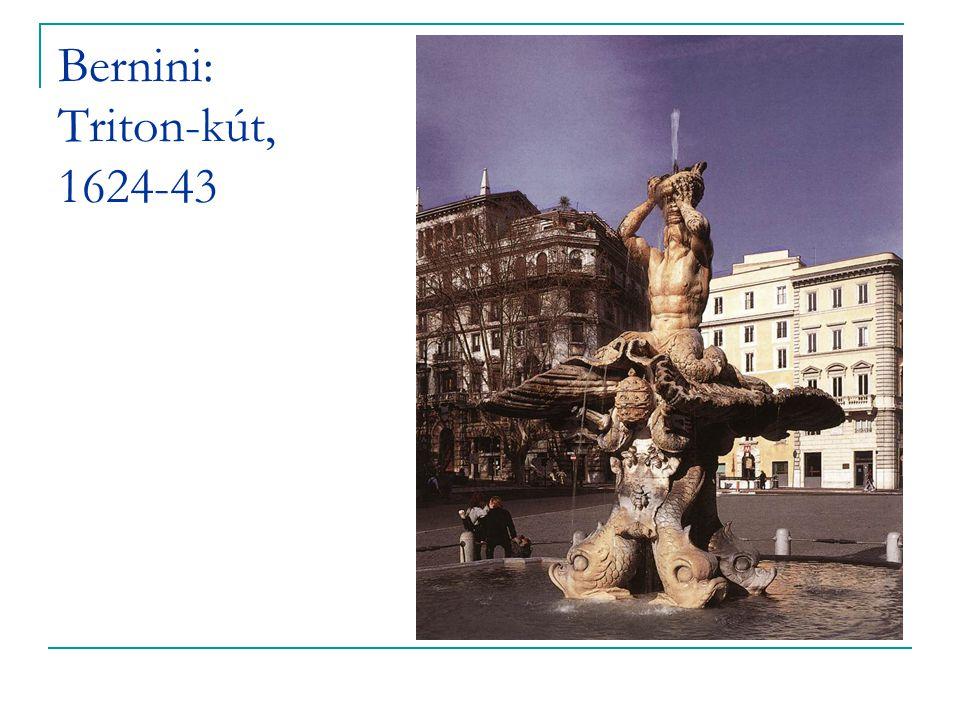 Bernini: Triton-kút, 1624-43