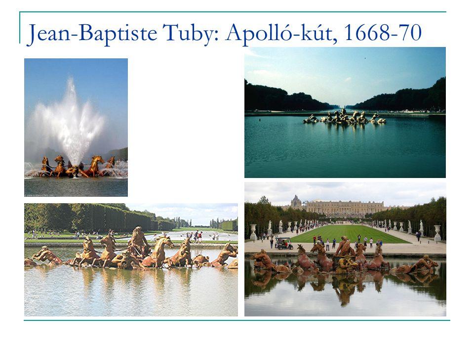 Jean-Baptiste Tuby: Apolló-kút, 1668-70