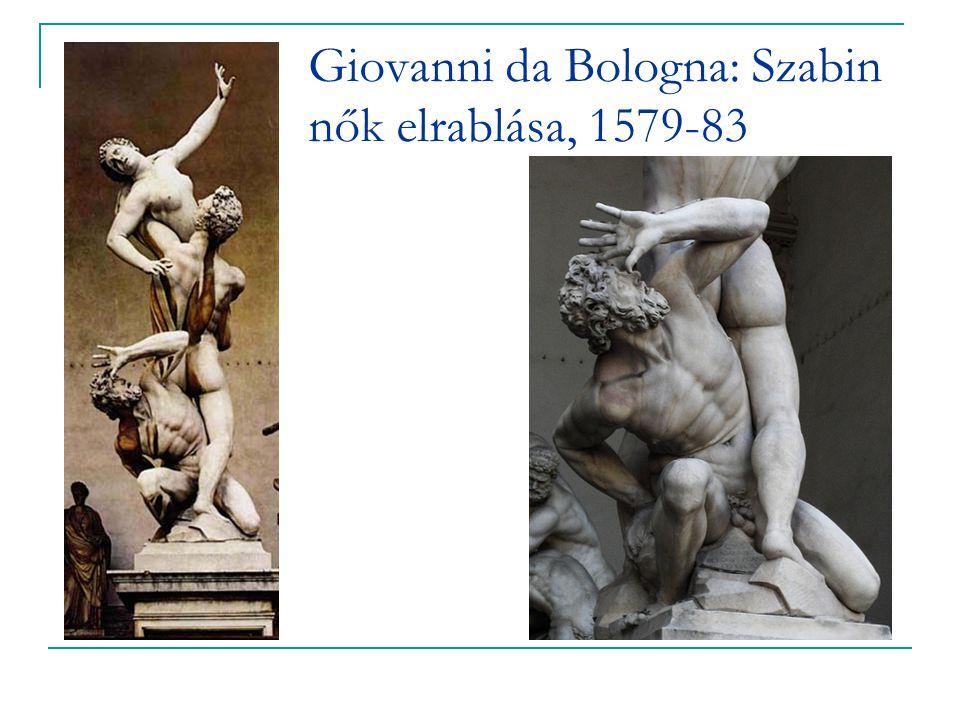 Giovanni da Bologna: Szabin nők elrablása, 1579-83