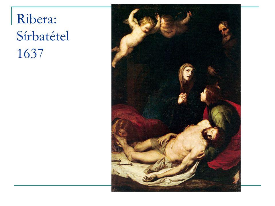 Ribera: Sírbatétel 1637