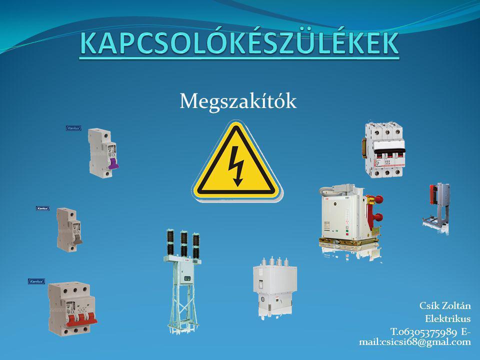 Csík Zoltán Elektrikus T.06305375989 E- mail:csicsi68@gmal.com Megszakítók