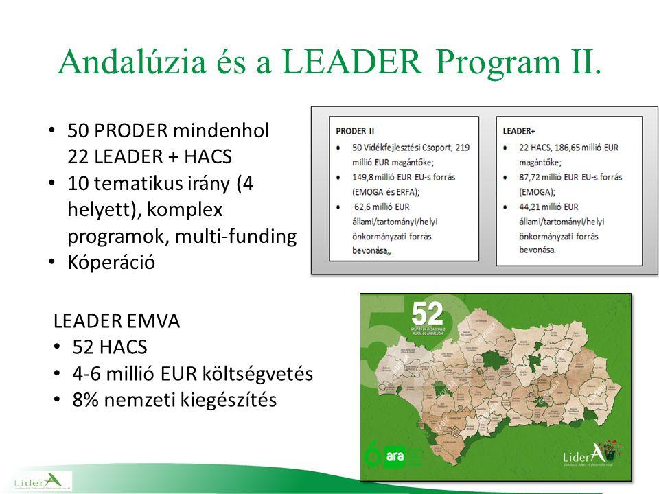 Andalúzia és a LEADER Program II.